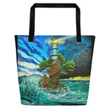 Bring it to the Light Beach Bag