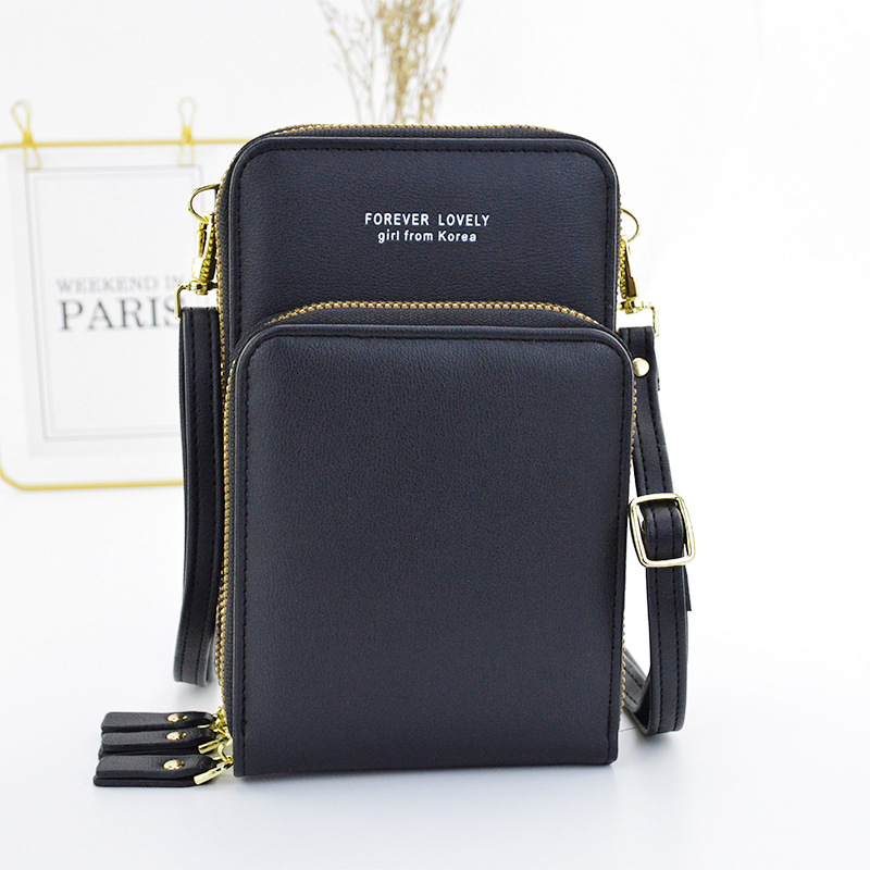 3 Zipper Crossbody bag