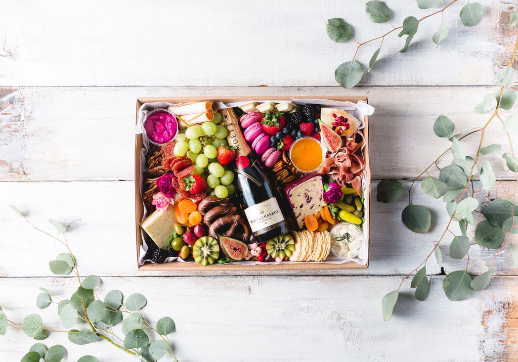 The Original Graze Box and Champagne