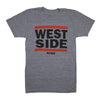 BELLBOY | KCMO WESTSIDE T-SHIRT - GREY