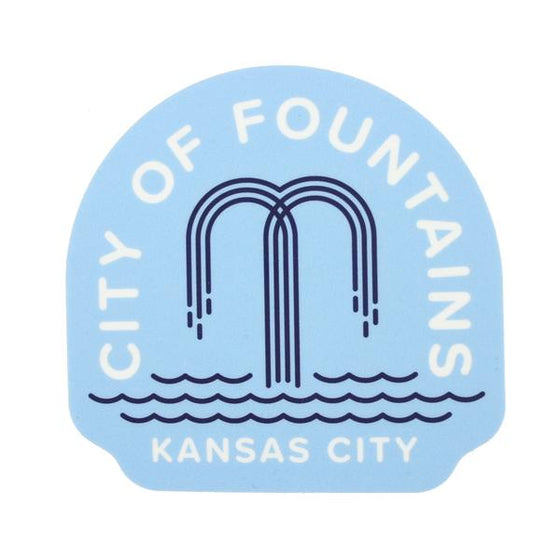 FLINT & FIELD | CITY OF FOUNTAINS STICKER