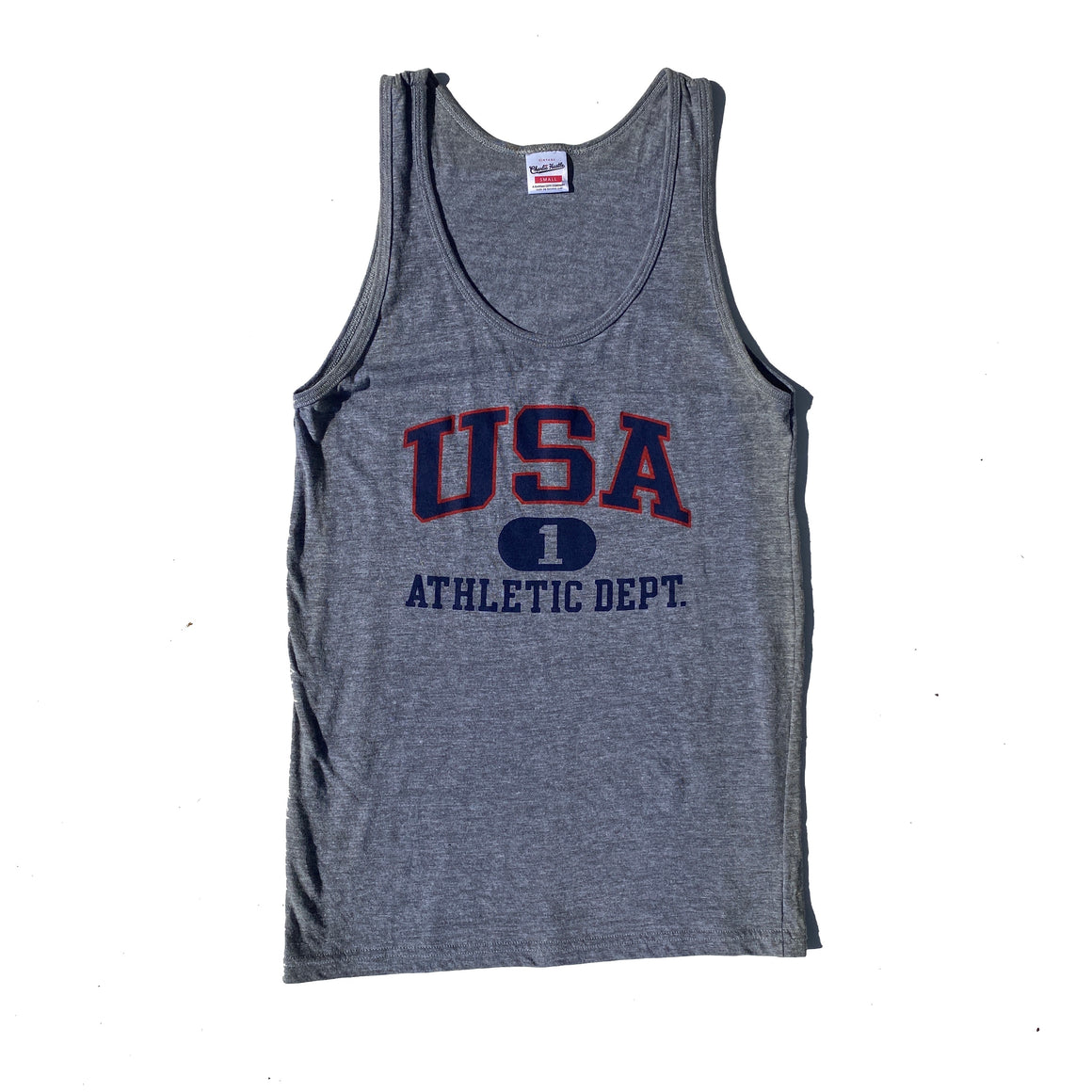 CHARLIE HUSTLE | USA TANK TOP