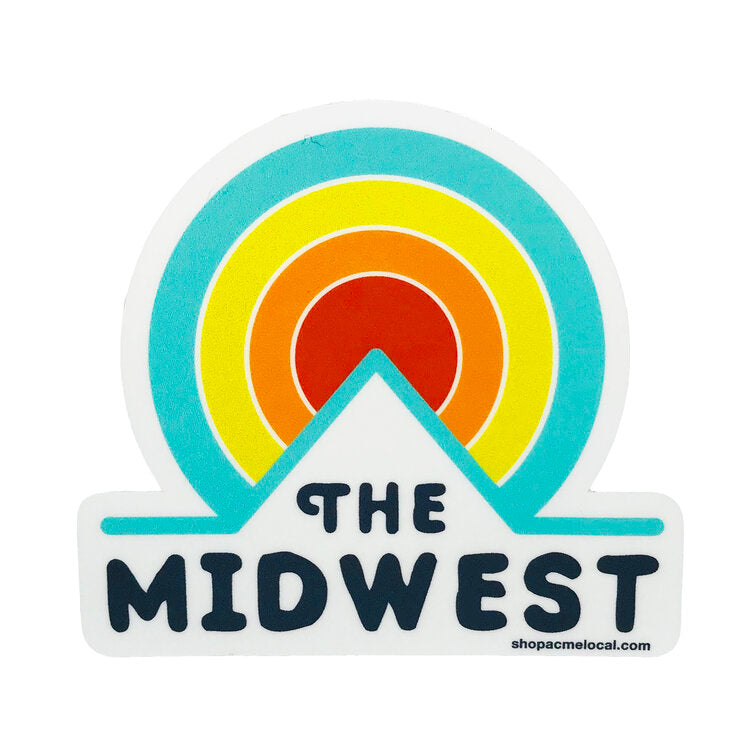 FLINT AND FIELD | THE MIDWEST STICKER