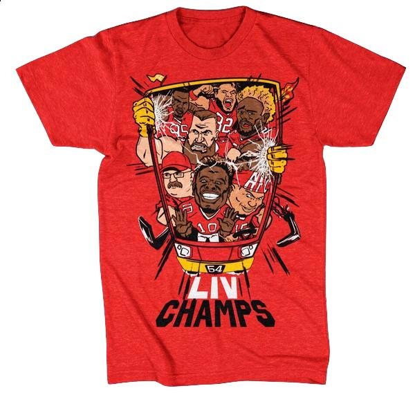 BELLBOY | SQUAD CHAMPS T-SHIRT - RED