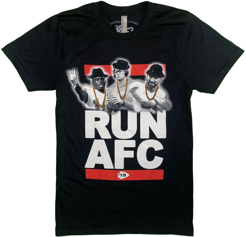 1853 | RUN AFC T-SHIRT - BLACK