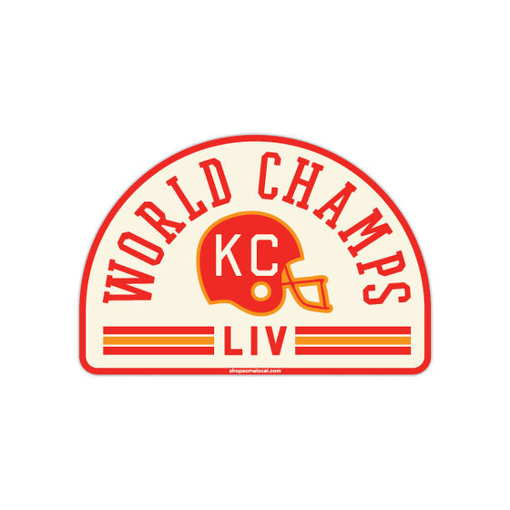 ACME LOCAL | KC WORLD CHAMPS ARCH STICKER