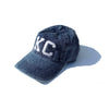 1KC | BASEBALL HAT - DEEP BLUE SNOW WASHED
