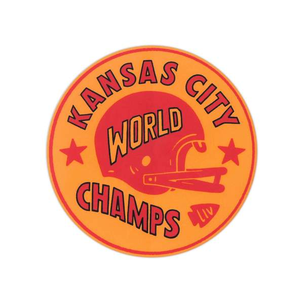 CHARLIE HUSTLE | KANSAS CITY WORLD CHAMPS STICKER