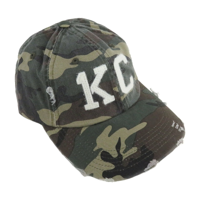 1KC | BASEBALL HAT | CAMO