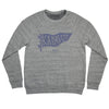 BELLBOY | KC PENNANT SWEATSHIRT - GREY/BLUE