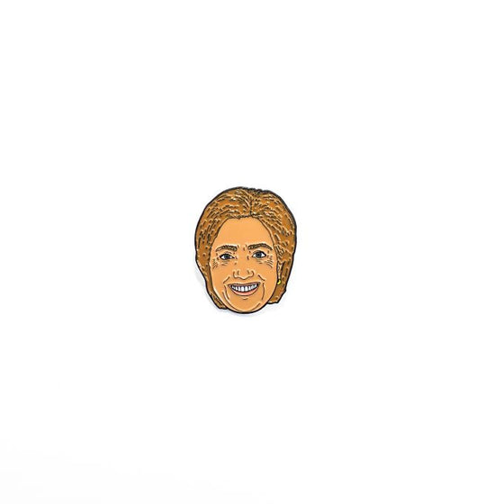 x BELLBOY ELECTION PIN | HILLARY