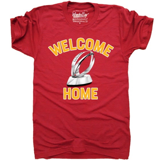 WONDERBOY APPAREL | WELCOME HOME T-SHIRT
