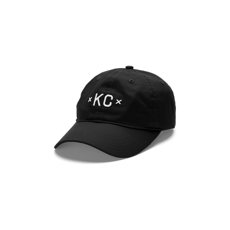 MADE URBAN APPAREL | KC DAD HAT | BLACK
