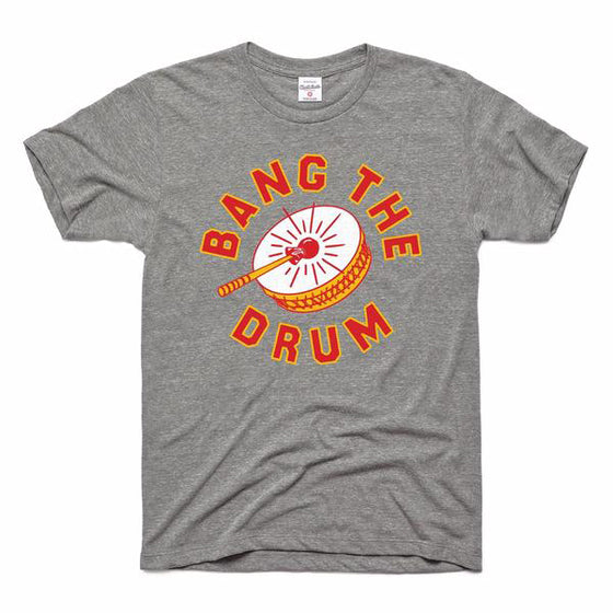 CHARLIE HUSTLE | BANG THE DRUM T-SHIRT