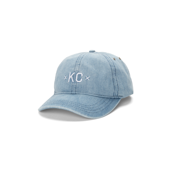MADE URBAN APPAREL | KC DAD HAT | DENIM