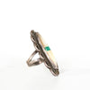 VINTAGE JEWELRY | SURFBOARD STERLING DETAIL RING (SIZE 5)
