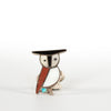VINTAGE JEWELRY | ZUNI STERLING OWL RING (SIZE 5.5)