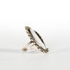 VINTAGE JEWELRY | STERLING SURFBOARD RING (SIZE 7.25)