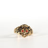 VINTAGE JEWELRY | GOLD-FILLED LION RING (SIZE 9.75)