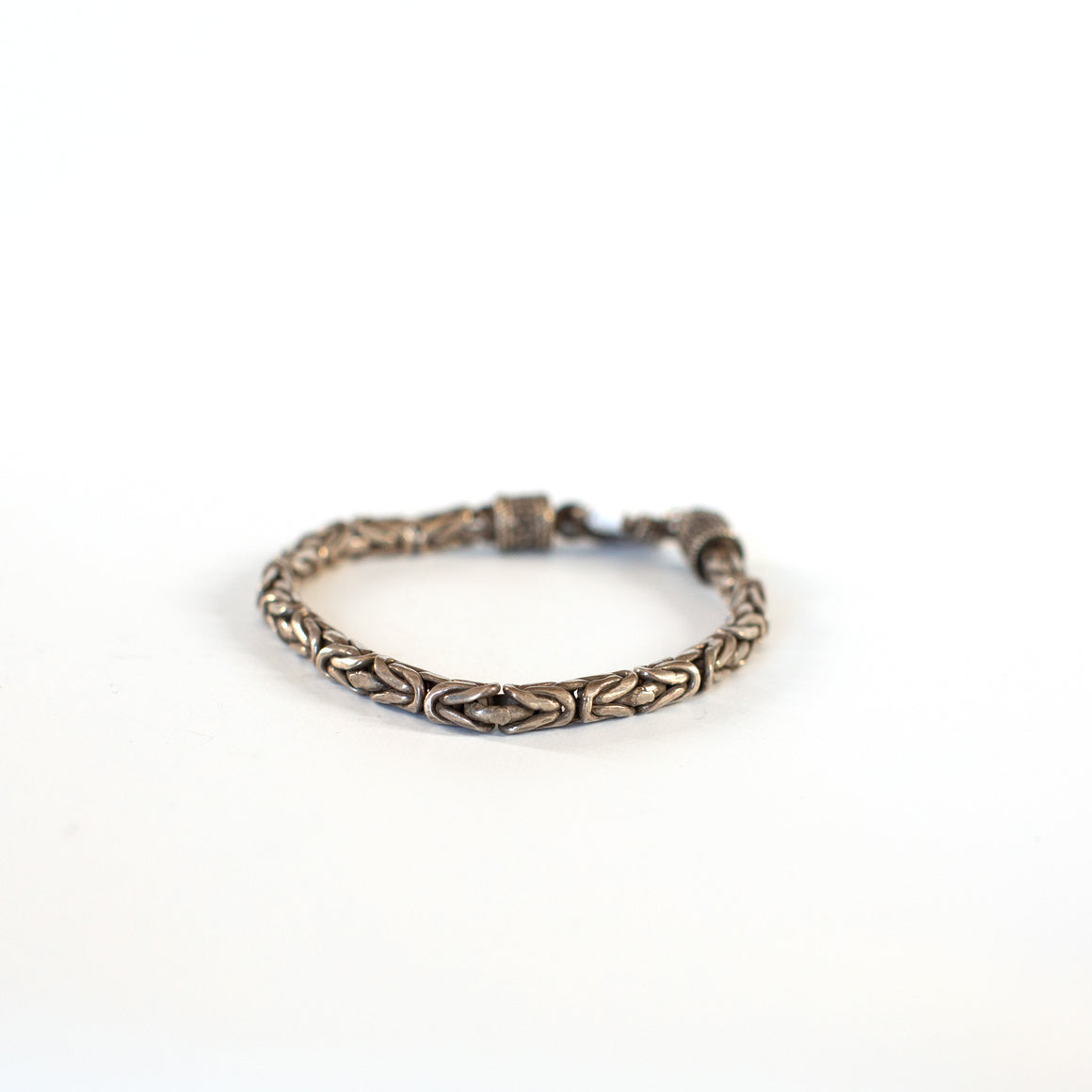 VINTAGE JEWELRY | STERLING ROPE BRACELET