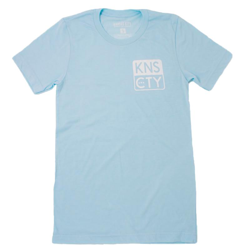KC CLOTHING | KNS CTY | HEATHER ICE BLUE