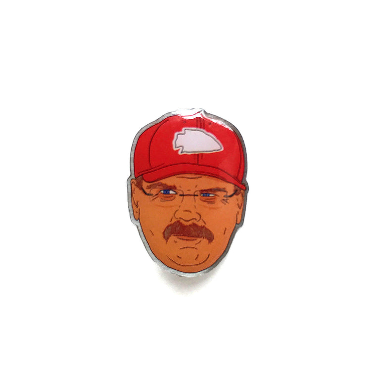 BELLBOY | BIG RED ENAMEL PIN