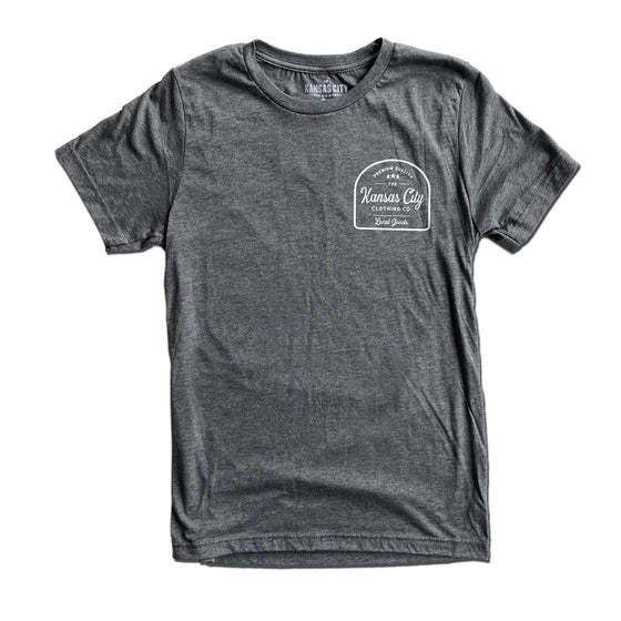 KC CLOTHING | SHUTTLECOCK T-SHIRT - GREY