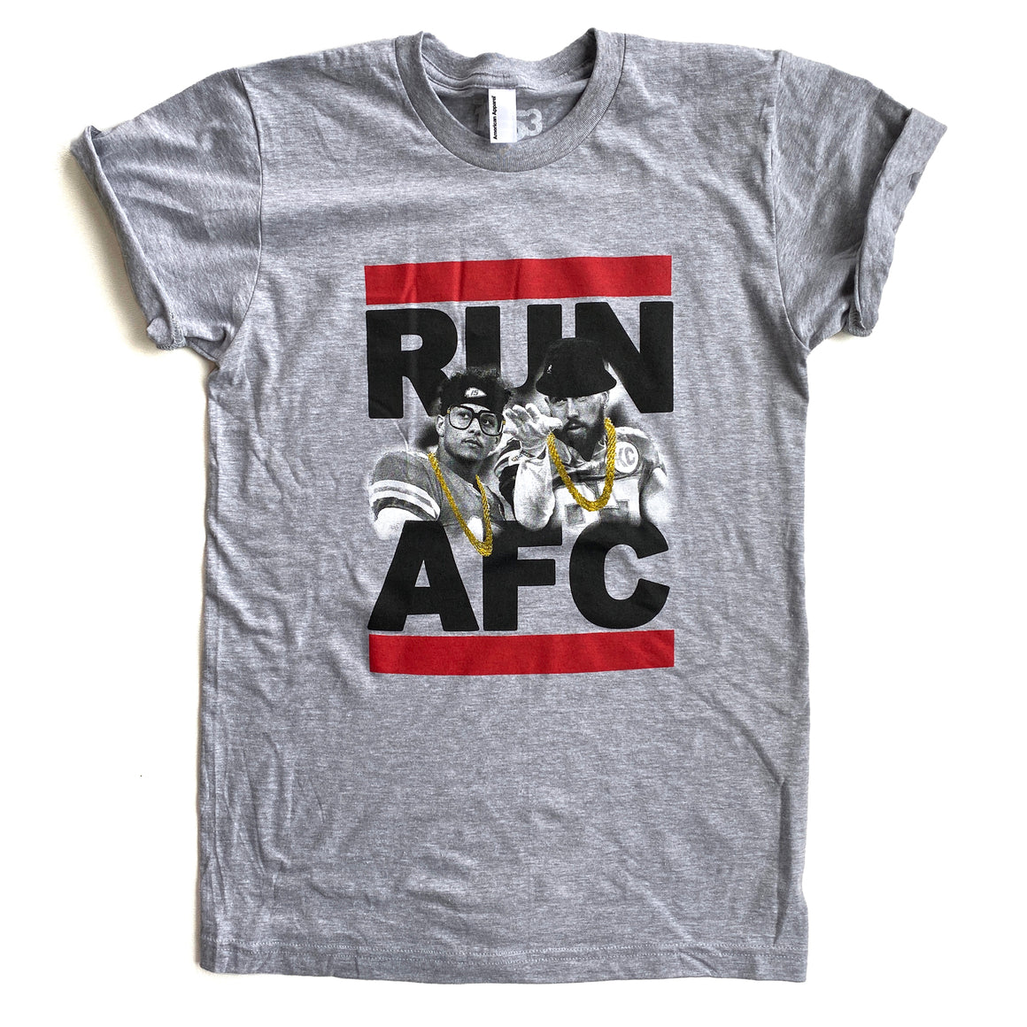1853 | RUN AFC T-SHIRT - GREY