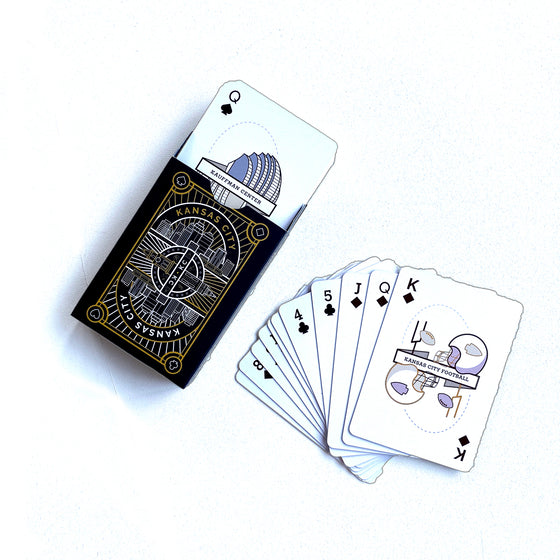 KC LABYRINTH | PLAYING CARDS