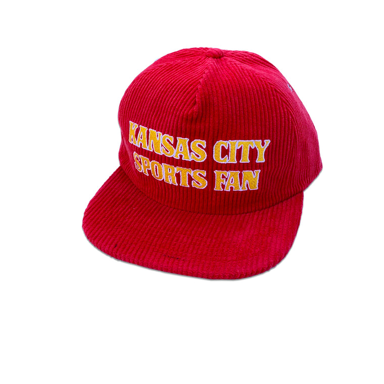 SPORTS SHACK | KANSAS CITY SPORTS FAN CORDUROY SNAPBACK - RED