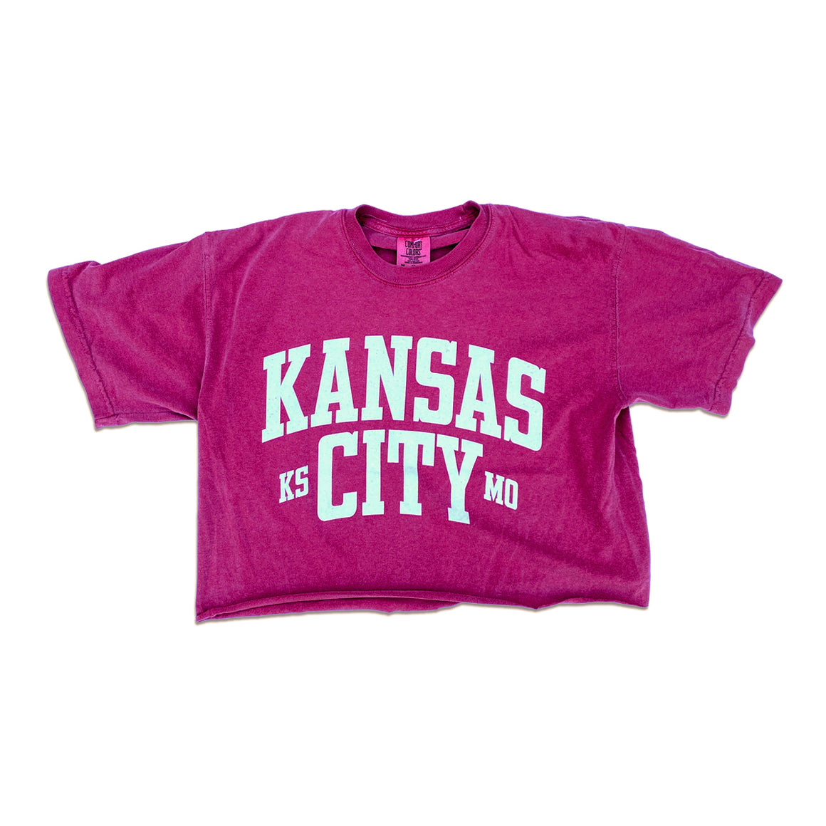 1KC | KCMO 2.0 CROP TOP - DUSTY ROSE