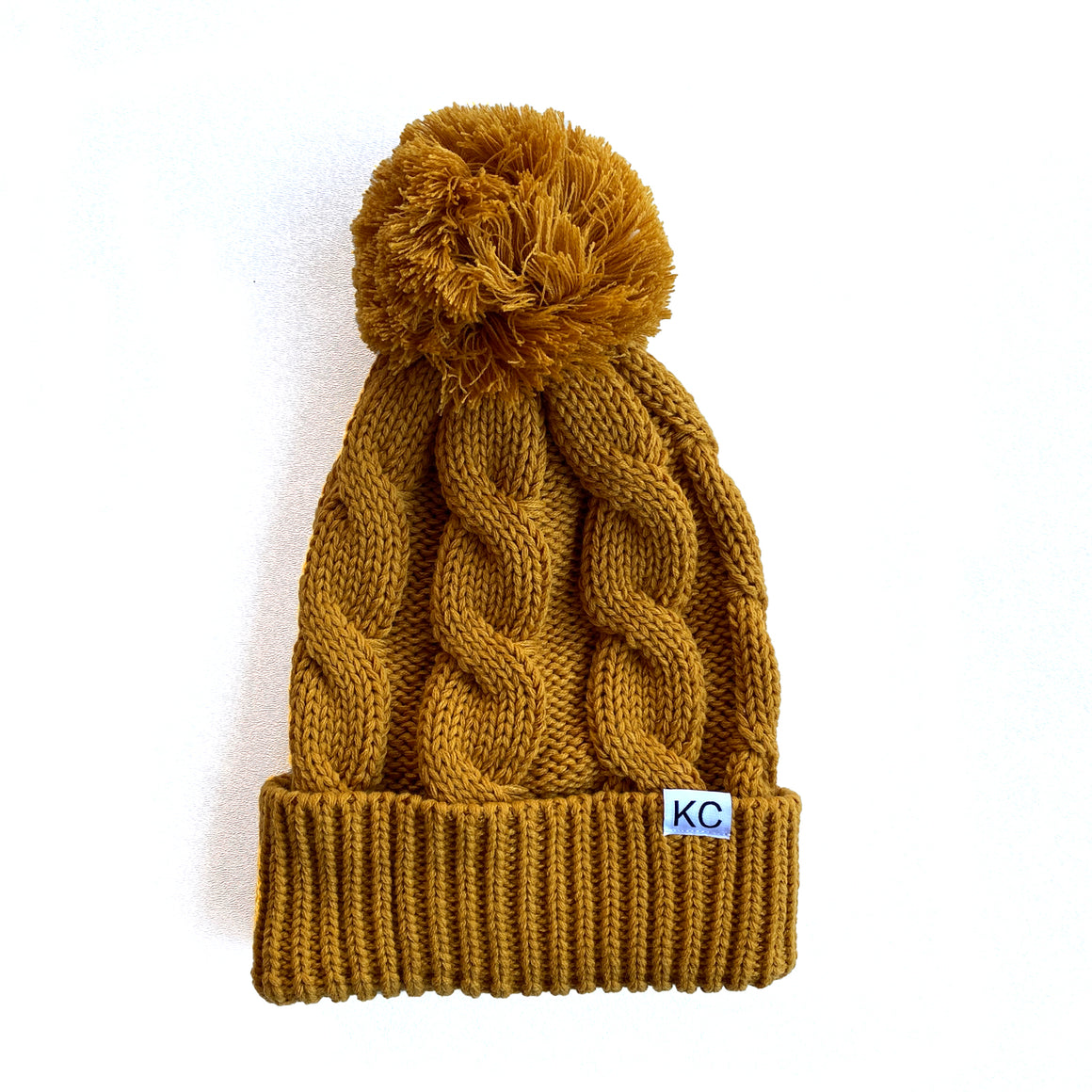 BELLBOY | CHUNK TWIST BEANIE - GOLD