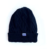 BELLBOY | KNIT CABLE BEANIE - BLACK