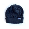 BELLBOY | KNIT CABLE BEANIE - CHARCOAL