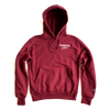 BELLBOY | REVERSE WEAVE SIMPLE KC HOODIE - MAROON