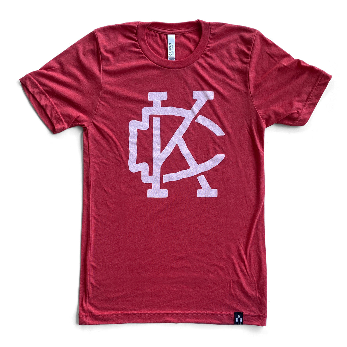 FLINT AND FIELD | ARROWHEAD KC T-SHIRT - RED