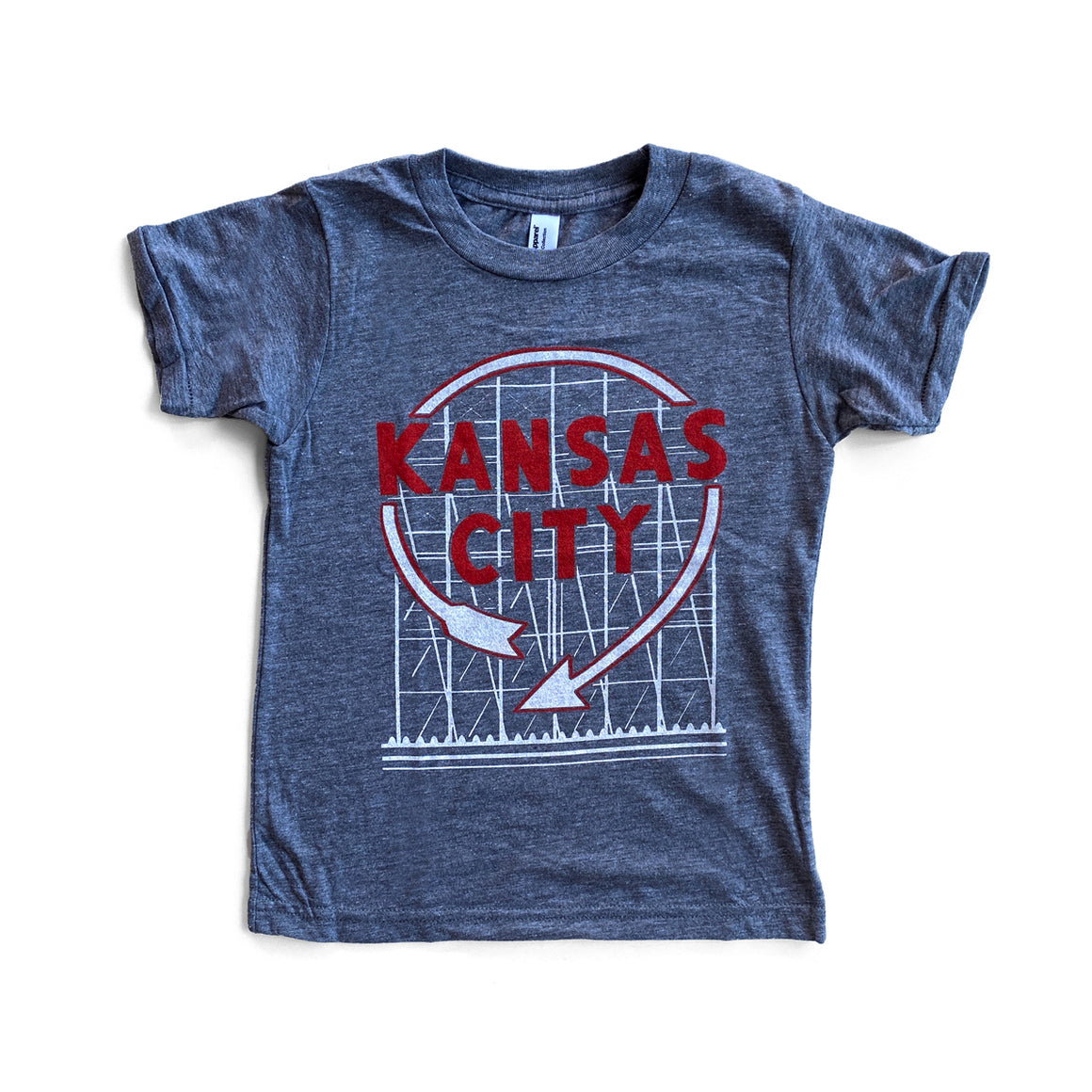BOZZ PRINTS | KIDS KC WESTERN AUTO T-SHIRT