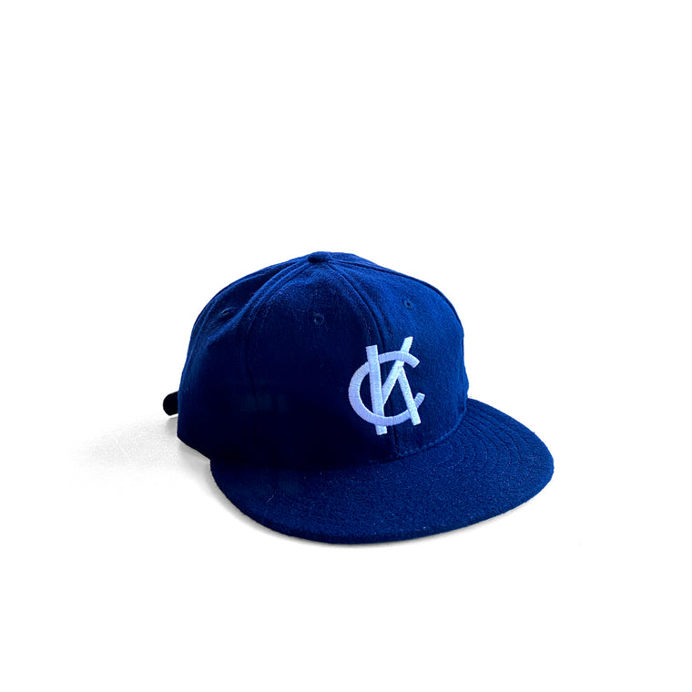 EBBETS FIELD | KANSAS CITY BLUES 1947 VINTAGE BALLCAP