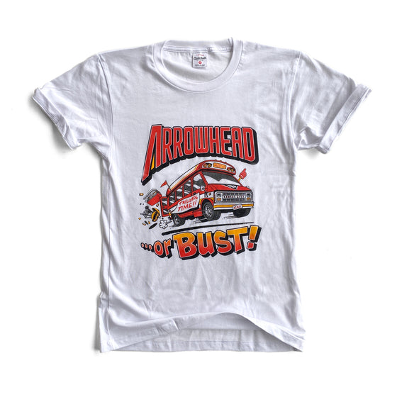 CHARLIE HUSTLE | ARROWHEAD OR BUST T-SHIRT