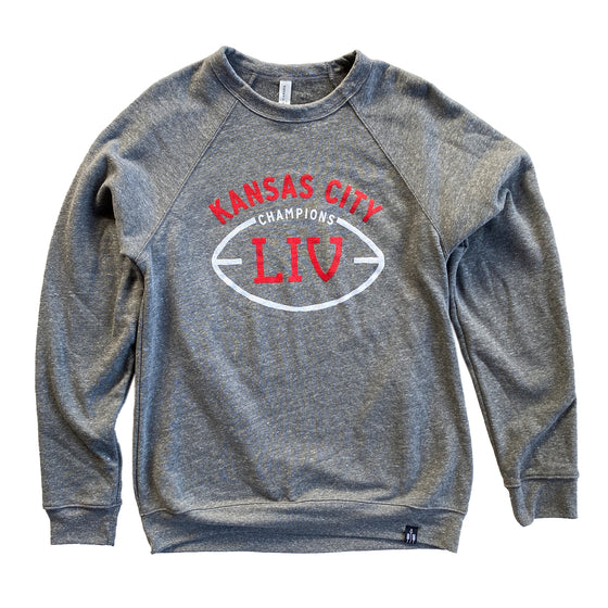 FLINT AND FIELD | KC LIV CHAMPIONS SWEATSHIRT