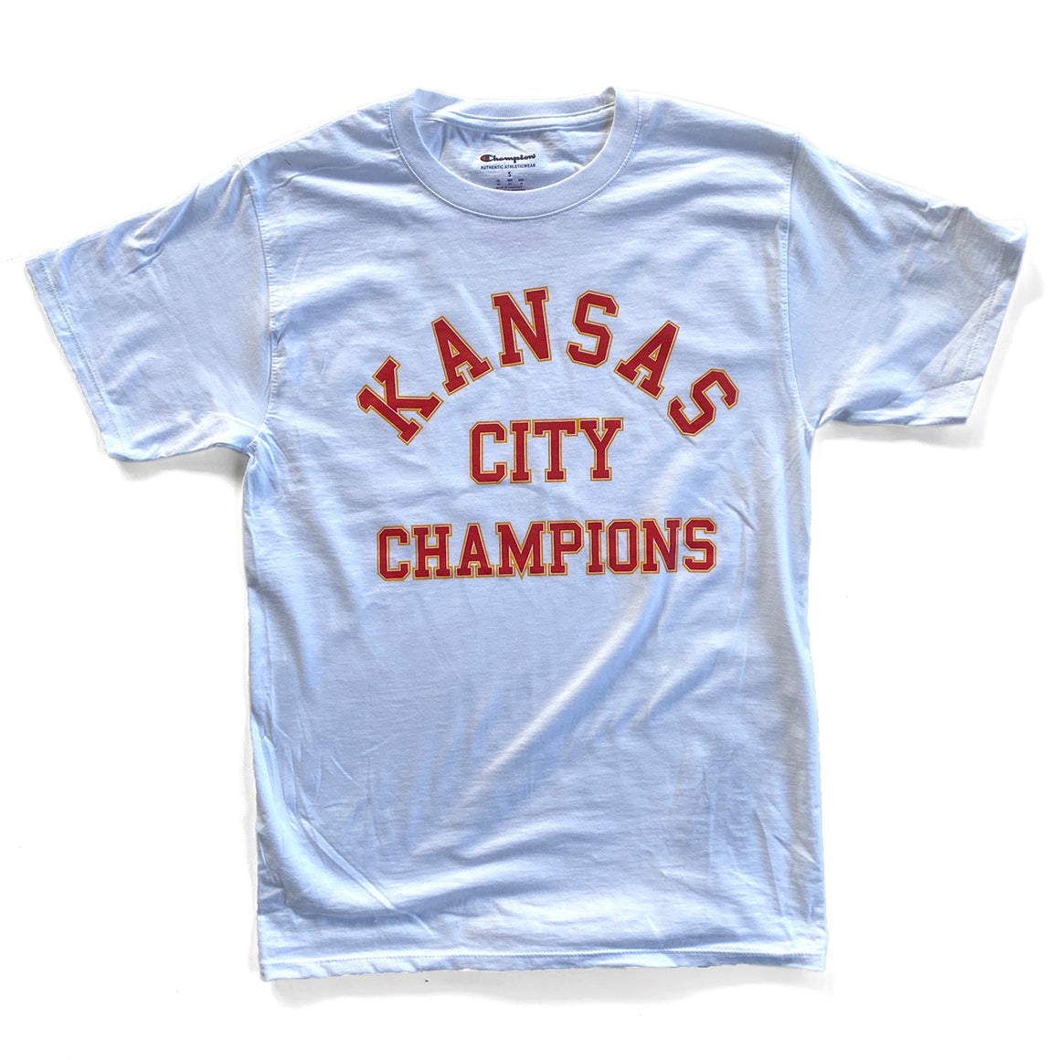 1KC | KANSAS CITY CHAMPIONS T-SHIRT - WHITE