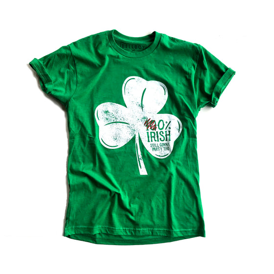 BELLBOY | 0% Irish T-SHIRT - GREEN