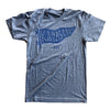 BELLBOY | KC PENNANT T-SHIRT - GREY/BLUE