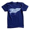 BELLBOY | KC PENNANT T-SHIRT - NAVY