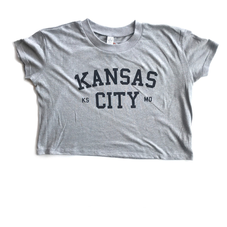 1KC | 1KANSAS CITY VINTAGE | WOMANS CROP TOP