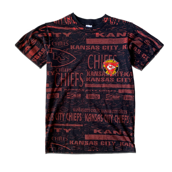 WESTSIDE STOREY VINTAGE | SALEM KC CHIEFS ALL OVER PRINT T-SHIRT