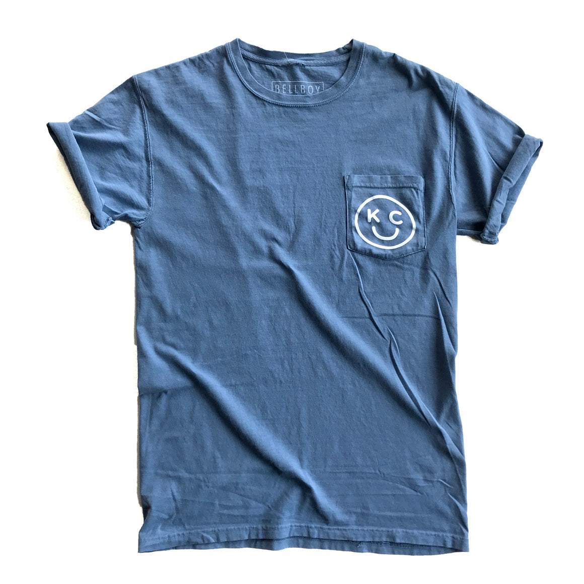 BELLBOY | KC SMILEY POCKET TEE | SALTWATER