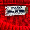 WESTSIDE STOREY VINTAGE | BRANDON KC CHIEFS KNIT SWEATER