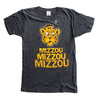 CHARLIE HUSTLE | MIZZOU STACKED | VINTAGE BLACK