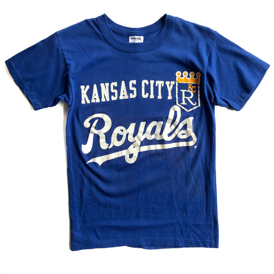 WESTSIDE STOREY VINTAGE | KANSAS CITY ROYALS CROWN LOGO T-SHIRT